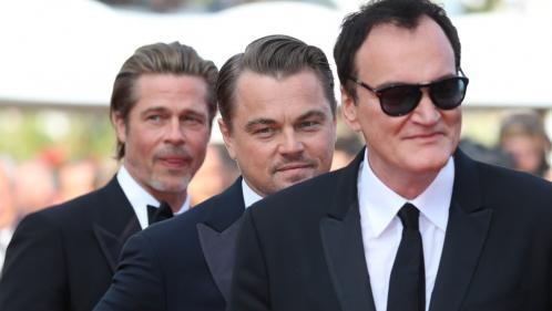 EN IMAGES. Cannes 2019 : Tarantino, Leonardo DiCaprio et Brad Pitt, trio de choc sur les marches