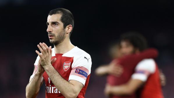 Ligue Europa : l'Arménien d'Arsenal, Henrikh Mkhitaryan, ne participera pas à la finale en Azerbaïdjan pour raisons personnelles