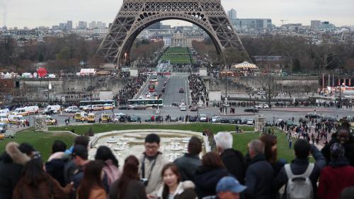 Le site de la tour Eiffel sera piétonnisé et végétalisé d'ici 2024, année des JO