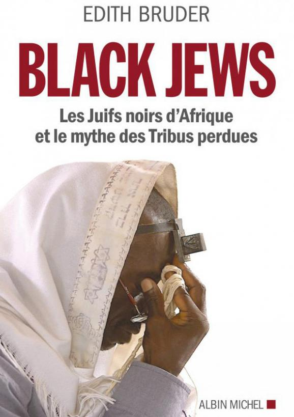 """Livre d\'Edith Bruder Black jews édité en France en 2014 ches Albin Michel. Photo extraite du film \""""Les juifs Noirs du Nigéria\"""""""
