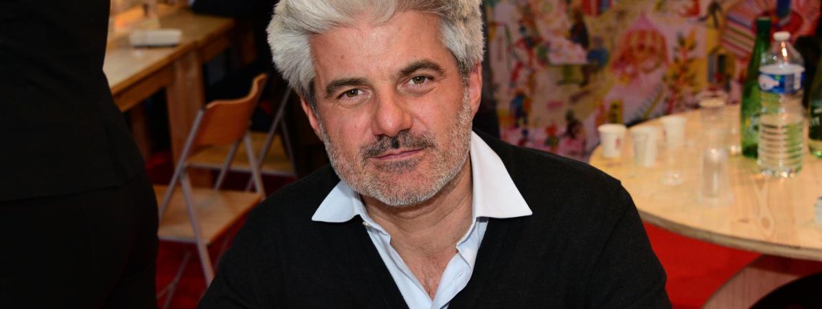 Le romancier Laurent Gaudé au Salon Livres Paris, mars 2019