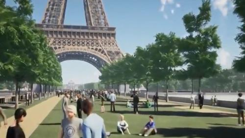 Tour Eiffel : le plus grand jardin de Paris ?