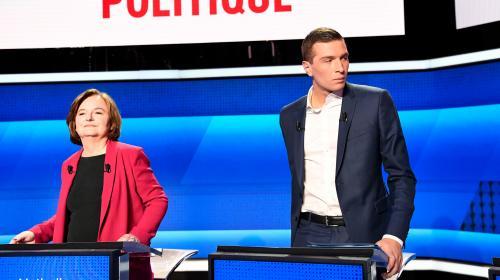 A trois jours des européennes, le Rassemblement national et La République en marche restent au coude-à-coude, selon notre sondage