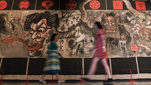 Le British Museum de Londres accueille la plus grande expo de mangas hors du Japon
