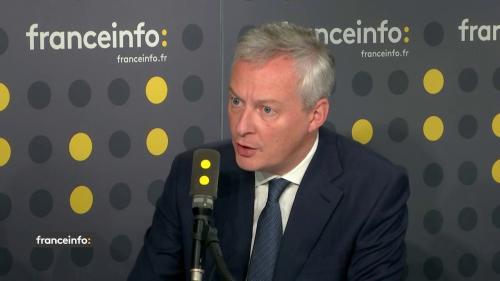 """VIDEO. Bruno Le Maire a """"demandé à General Electric de ne fermer aucun site"""" en France, y compris celui de Belfort"""