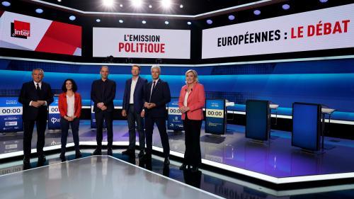 Débat des européennes : chouette, bulletin de vote et bouteille d'oxygène... Ces objets choisis par les représentants des six principales listes