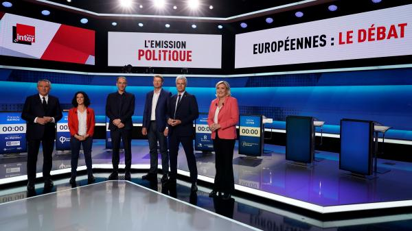 Débat des européennes : chouette, projectile de LBD et réveil... Ces objets choisis par les représentants des quinze principales listes