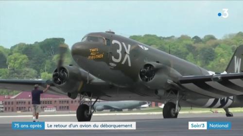 Débarquement : un C-47 restauré reviendra en Normandie depuis les États-Unis