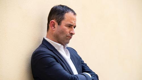 """VIDEO. Européennes : """"Je tirerai les leçons d'un deuxième échec majeur"""", assure Benoît Hamon"""
