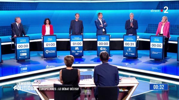 VIDEOS. Européennes : les neuf séquences qu'il ne fallait pas rater pendant les deux débats