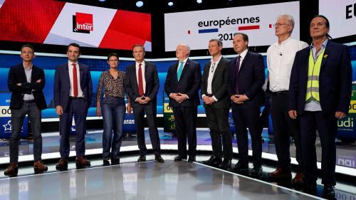 """REPLAY. Européennes : revivez le grand débat de """"L'Emission politique"""" avec les 15 candidats pour l'élection"""