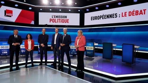 """Européennes : les six approximations des chefs de partis et candidats lors des débats de """"L'Emission politique"""""""