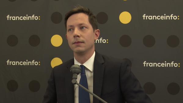 """VIDEO. Élections européennes: """"Il faut que l'Europe ait confiance en elle"""", selon François-Xavier Bellamy"""