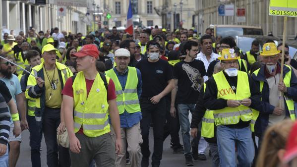 Gilets jaunes : une femme blessée samedi dernier à Reims porte plainte