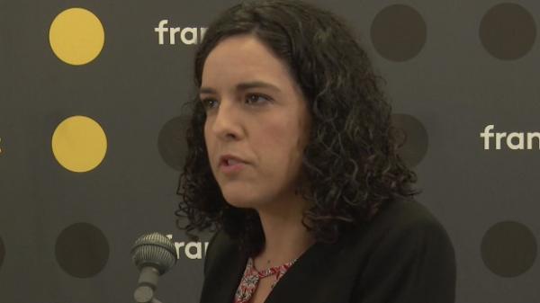 """VIDEO. Elections européennes : """"Il faut assumer un rapport de force avec l'Union européenne"""", affirme Manon Aubry"""