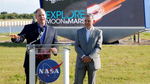 La Nasa détaille Artémis, son programme qui doit ramener des astronautes sur la Lune en 2024