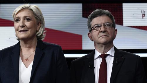 Européennes : textos de Le Pen, coups de fil de Mélenchon... Ces pratiques de campagne sont-elles légales ?