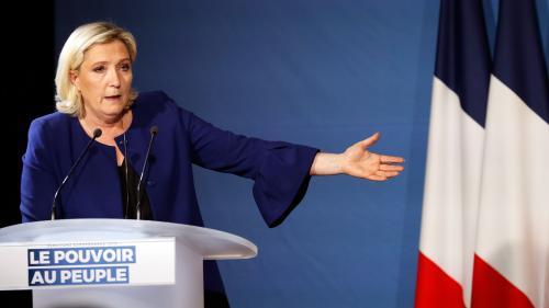 Après la victoire du RN aux européennes, Marine Le Pen réclame la dissolution de l'Assemblée nationale