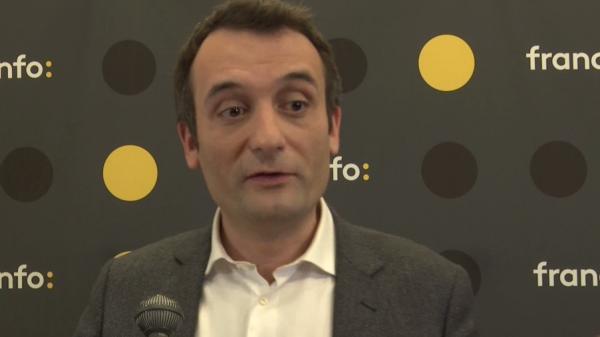 """Elections européennes : Florian Philippot dit être """"le seul à demander à ce que [son] mandat soit le plus court possible"""""""