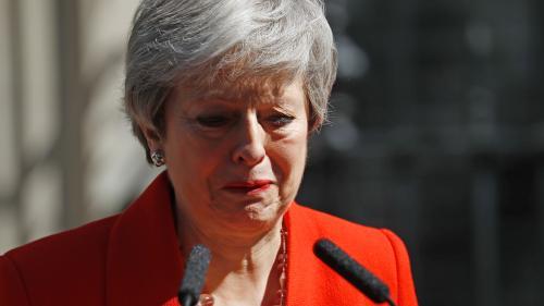 VIDEO. Theresa May au bord des larmes pour annoncer sa démission