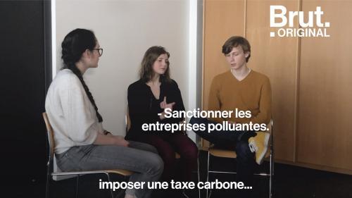 """VIDEO. """"Jeunes pour le climat"""" : Rencontre avec trois militants décidés à changer les choses"""