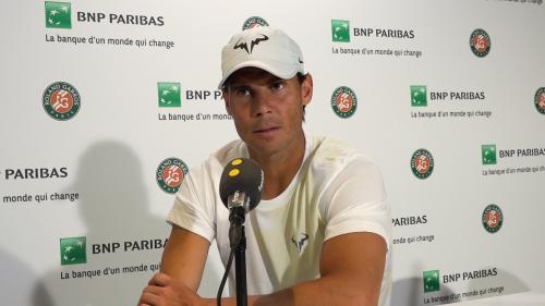 VIDEO. Un rêve personnel, l'espoir d'affronter Federer...Rafael Nadal s'est confié à franceinfo avant Roland-Garros