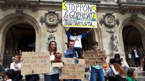 """""""Quand c'est fondu, c'est foutu !"""" : ces jeunes qui n'ont pas l'âge de voter, mais qui se mobilisent pour le climat"""