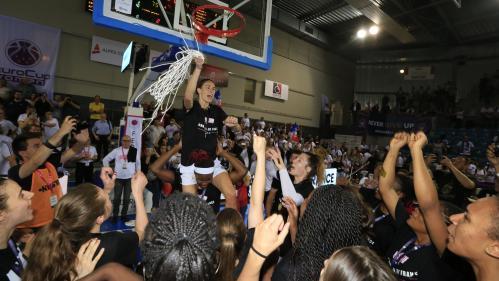 Basket : les joueuses de Lyon Asvel remportent leur premier titre de championnes de France