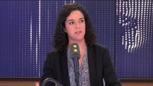 """Européennes : Manon Aubry est """"plutôt optimiste"""" pour le score de La France insoumise"""