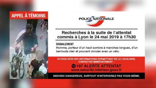 """Explosion à Lyon : la police lance un appel à témoins pour localiser """"un individu dangereux"""""""