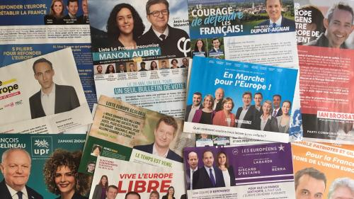 """""""Je n'ai rien reçu"""" : toutes les professions de foi des candidats aux élections européennes ne sont pas arrivées dans les boîtes aux lettres"""