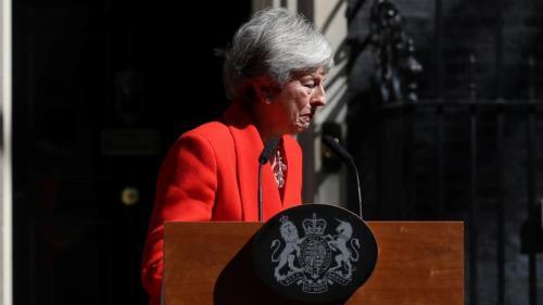 En échec sur le Brexit, la Première ministre britannique Theresa May annonce qu'elle démissionnera le 7juin