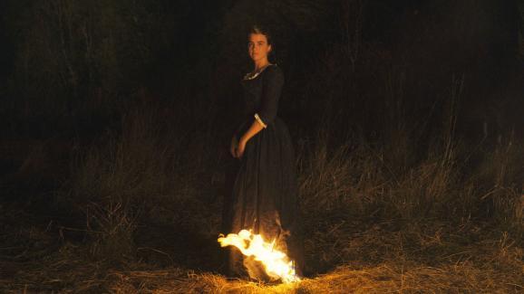 L\'actrice Française Noémie Merlant dans le film de Céline Sciamma Portrait de la jeune fille en feu.