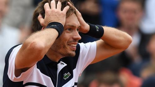 Roland-Garros : Nicolas Mahut signe l'exploit du jour en sortant l'Italien Cecchinato