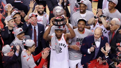 Les Raptors de Toronto croquent Milwaukee et s'offrent leur première finale NBA