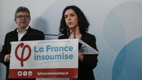 Résultats européennes 2019 : déconvenue pour La France insoumise, qui obtient seulement 6,4% des voix au coude-à-coude avec le PS, selon notre estimation Ipsos/Sopra Steria