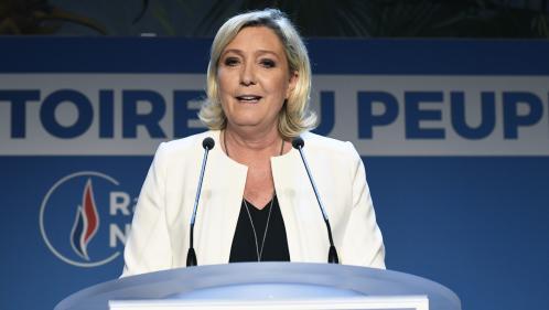 """VIDEO. Pour Marine Le Pen, Emmanuel Macron """"n'a d'autre choix que de dissoudre l'Assemblée nationale"""""""