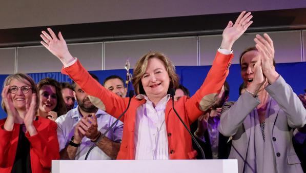 """VIDEO. Résultats européennes 2019 : """"La majorité présidentielle fait la démonstration de sa solidité"""", estime Nathalie Loiseau"""