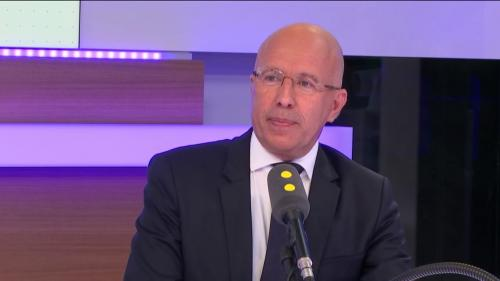 """Européennes : """"Nous payons cette stratégie de vote utile"""", estime le député Les Républicains Éric Ciotti"""