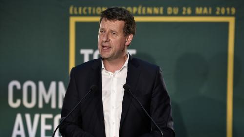 DIRECT. Elections européennes : regardez l'interview de Yannick Jadot, tête de la liste EELV arrivée troisième du scrutin
