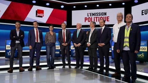 Européennes : quels sont les scores des listes qui ont fait moins de 5% en France?