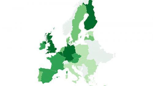 CARTE. Résultats des élections européennes 2019 : la percée surprise des listes écologistes