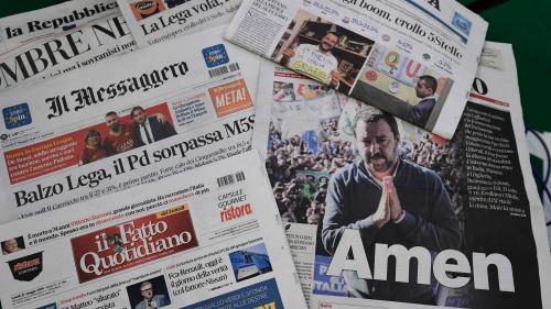 Que disent les unes de la presse européenne au lendemain des élections ?