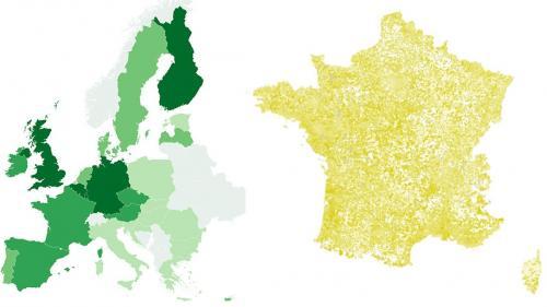 Européennes : neuf cartes pour comprendre les résultats en France et en Europe