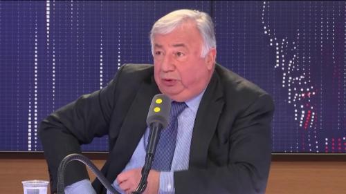 """VIDEO. Gérard Larcher veut """"reconstruire un projet qui rassemble la droite et le centre"""" hors des Républicains"""