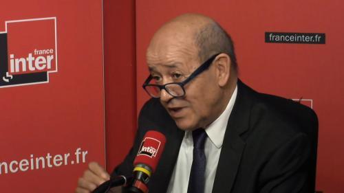 """Français condamnés en Irak: """"Nous multiplions les démarches pour éviter la peine de mort"""", assure Jean-Yves Le Drian"""