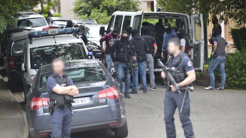 Colis piégé à Lyon: le vélo vu sur les images de vidéo surveillance également retrouvé lors d'une perquisition chez le suspect