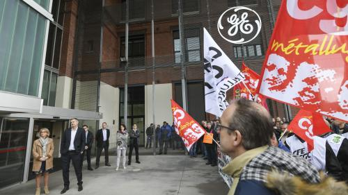 Le groupe américain General Electric va supprimer 1050emplois dans le Territoire de Belfort