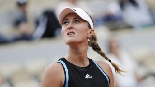 Roland-Garros : Kristina Mladenovic s'arrête au deuxième tour