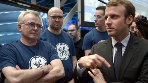 Suppression de postes chez General Electric : pourquoi élus et salariés en veulent-ils à Emmanuel Macron?